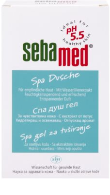Sebamed Wash sprchový gel Spa 2