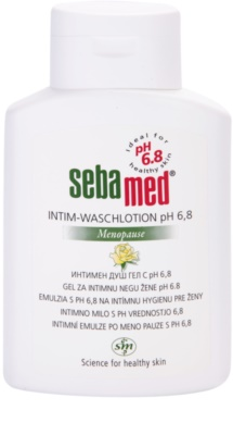Sebamed Wash emulsión para la higiene íntima durante la menopausia pH 6,8
