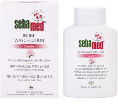 Sebamed Wash emulzija za intimno higieno pH 3,8 1