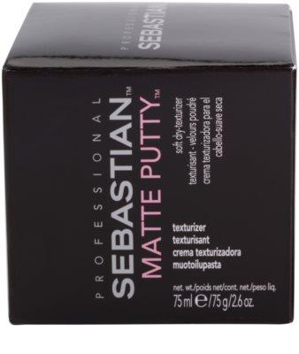 Sebastian Professional Form jemná pudrová pasta pro matný vzhled 2