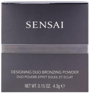 Sensai Bronzing пудра-бронзатор для природного вигляду 2