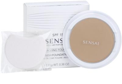 Sensai Cellular Performance Foundations pó compacto antirrugas recarga 1