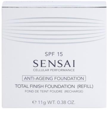 Sensai Cellular Performance Foundations protivráskový kompaktní pudr náhradní náplň 4