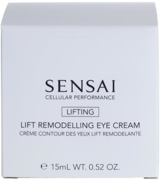 Sensai Cellular Performance Lifting Lifting-Augencreme mit remodellierendem Effekt 2