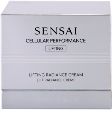 Sensai Cellular Performance Lifting aufhellende Crem mit Lifting-Effekt 3