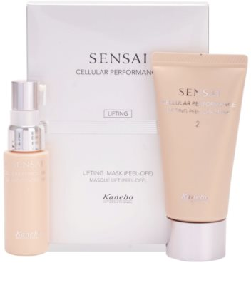 Sensai Cellular Performance Lifting máscara peel-off com efeito lifting 1