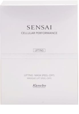 Sensai Cellular Performance Lifting máscara peel-off com efeito lifting 3