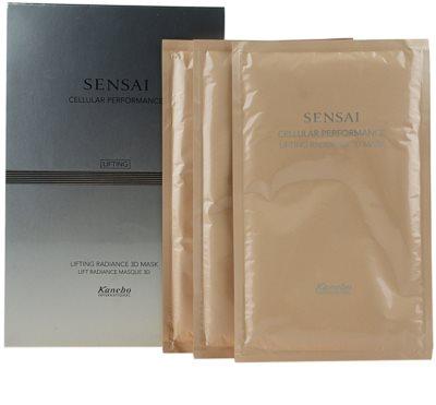 Sensai Cellular Performance Lifting liftinges élénkítő maszk 6 db