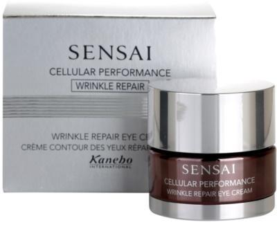 Sensai Cellular Performance Wrinkle Repair Augencreme gegen Falten 1