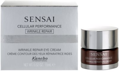 Sensai Cellular Performance Wrinkle Repair Augencreme gegen Falten 2
