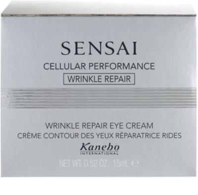 Sensai Cellular Performance Wrinkle Repair Augencreme gegen Falten 5