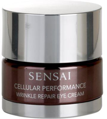 Sensai Cellular Performance Wrinkle Repair crema contur pentru ochi