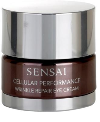 Sensai Cellular Performance Wrinkle Repair creme contorno de olhos antirrugas