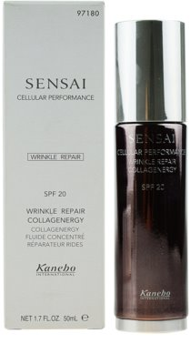 Sensai Cellular Performance Wrinkle Repair colagen fluid 2