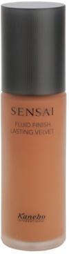Sensai Fluid Finish Lasting Velvet base fluido para uma aparência duradoura e perfeita da pele