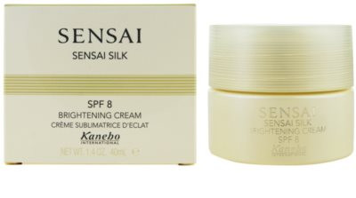 Sensai Sensai Silk crema iluminatoare SPF 8 2