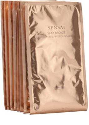 Sensai Silky Bronze máscara facial calmante pós-solar
