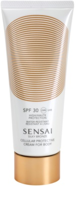 Sensai Silky Bronze bőrfiatalító napkrém SPF 30