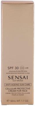 Sensai Silky Bronze Antifalten Sonnencreme SPF 30 2
