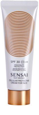 Sensai Silky Bronze крем проти зморшок для засмаги SPF 30