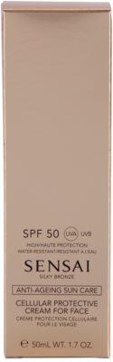 Sensai Silky Bronze przeciwzmarszczkowy krem do opalania  SPF 50 2