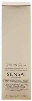 Sensai Silky Bronze krema za sončenje za obraz SPF 15 2