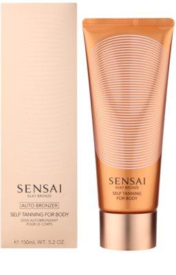 Sensai Silky Bronze gel autobronceador para el cuerpo 1