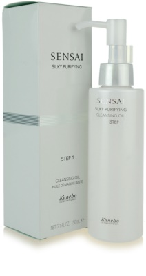 Sensai Silky Purifying Step One ulei de curatare 1