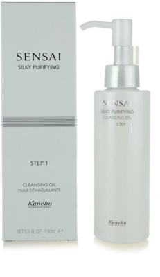 Sensai Silky Purifying Step One ulei de curatare 2