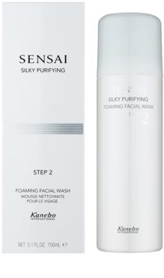 Sensai Silky Purifying Step Two tisztító hab 2