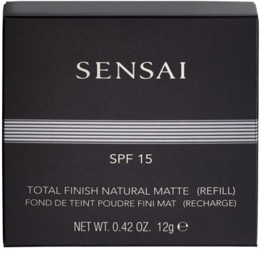 Sensai Total Finish Kompaktpuder Nachfüllpack SPF 15 1