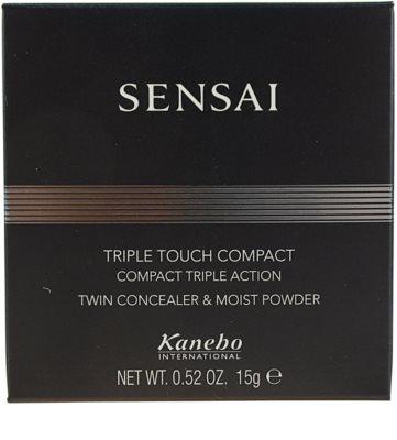 Sensai Triple Touch Compact kompaktowy puder z korektorem 3 w 1 4