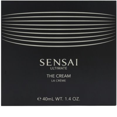 Sensai Ultimate creme facial 1