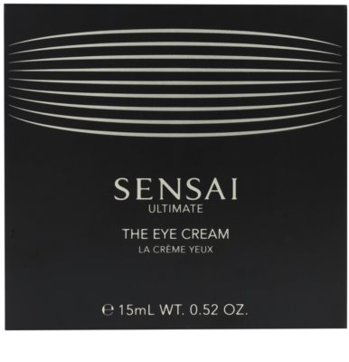 Sensai Ultimate crema para contorno de ojos suavizante 1
