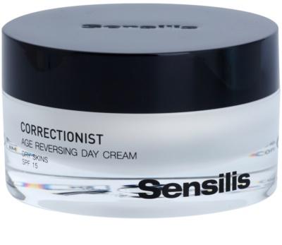 Sensilis Correctionist crema de zi pentru aparitia primelor riduri SPF 15
