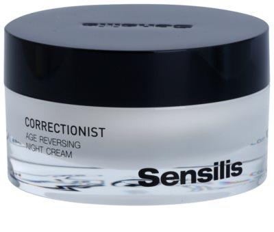 Sensilis Correctionist crema regeneratoare de noapte cu efect antirid