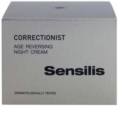 Sensilis Correctionist regenerujący krem na noc o działaniu przeciwzmarszczkowym 3