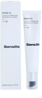 Sensilis Divine CC crema CC antiarrugas  SPF 15 1