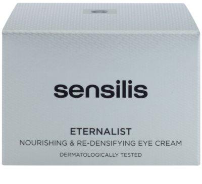 Sensilis Eternalist tápláló krém a szem körüli bőr sűrűségének megújításáért 3