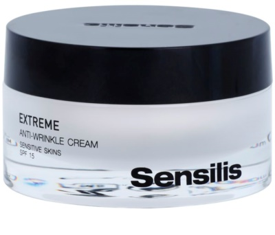 Sensilis Extreme crema antiarrugas SPF 15