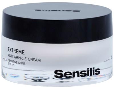 Sensilis Extreme creme antirrugas SPF 15