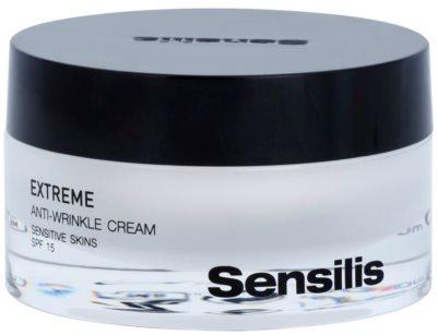 Sensilis Extreme krem przeciw zmarszczkom SPF 15