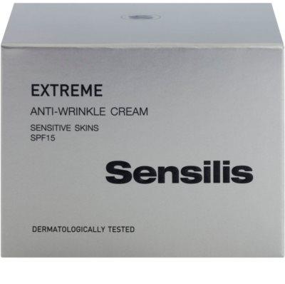 Sensilis Extreme crema antiarrugas SPF 15 3