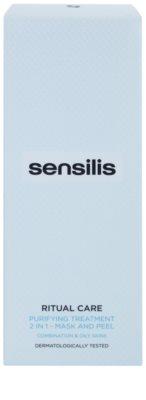 Sensilis Ritual Care tisztító maszk és peeling 2 az 1-ben 2