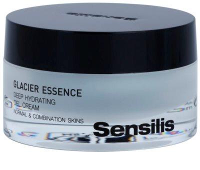 Sensilis Glacier Essence tiefenwirksame feuchtigkeitsspendende Gel-Creme