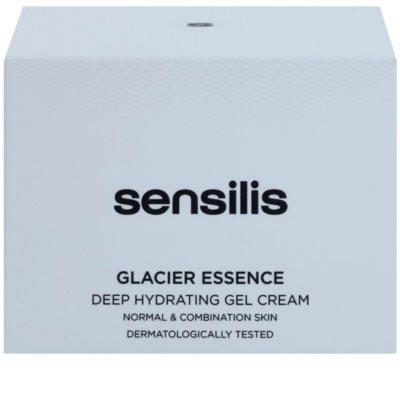 Sensilis Glacier Essence tiefenwirksame feuchtigkeitsspendende Gel-Creme 3