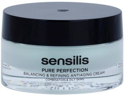 Sensilis Pure Perfection creme normalizante para a pele oleosa com efeito antirrugas