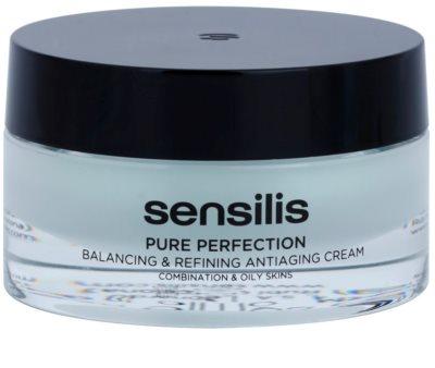 Sensilis Pure Perfection krema za normalizacijo mastne kože proti gubam