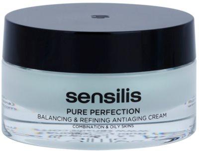 Sensilis Pure Perfection normalizačný krém pre mastnú pleť s protivráskovým účinkom