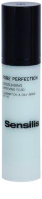 Sensilis Pure Perfection fluido hidratante com efeito matificante